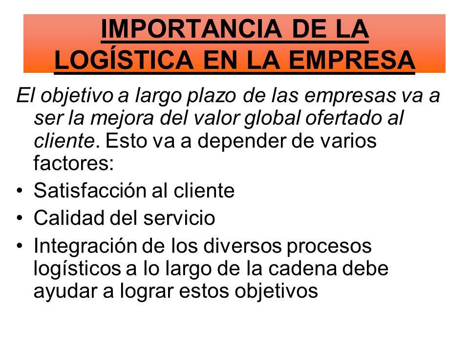 El objetivo a largo plazo de las empresas va a ser la mejora del valor global ofertado al cliente.