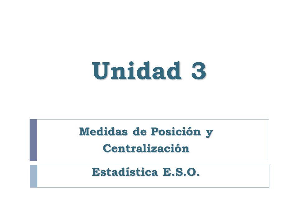 2.1.1.- Medida Aritmética Ejemplo: Estaturas de 50 niños.