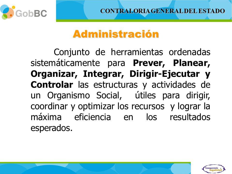 principios administracion publica: