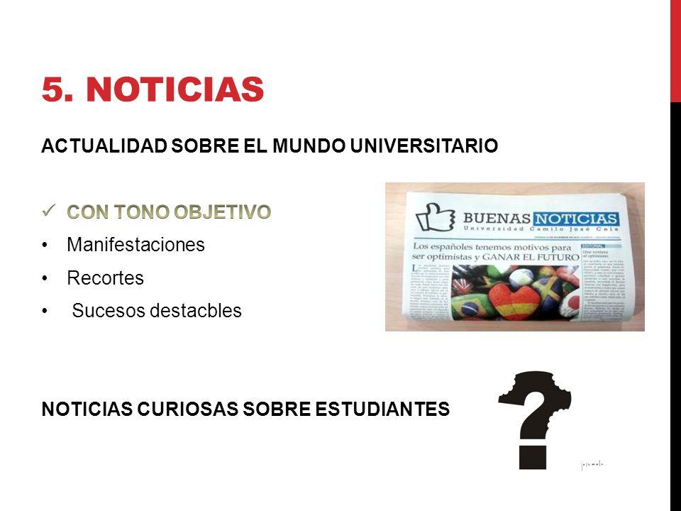 5. NOTICIAS