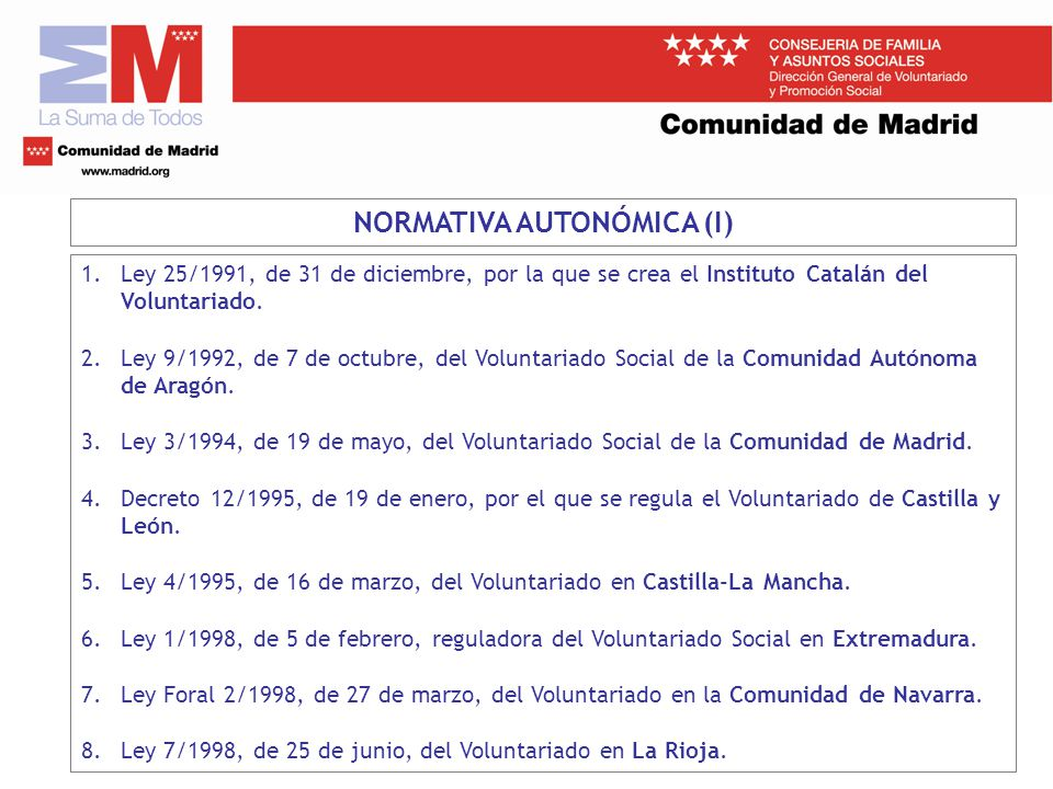25 ley 19 1994 de 6 de: