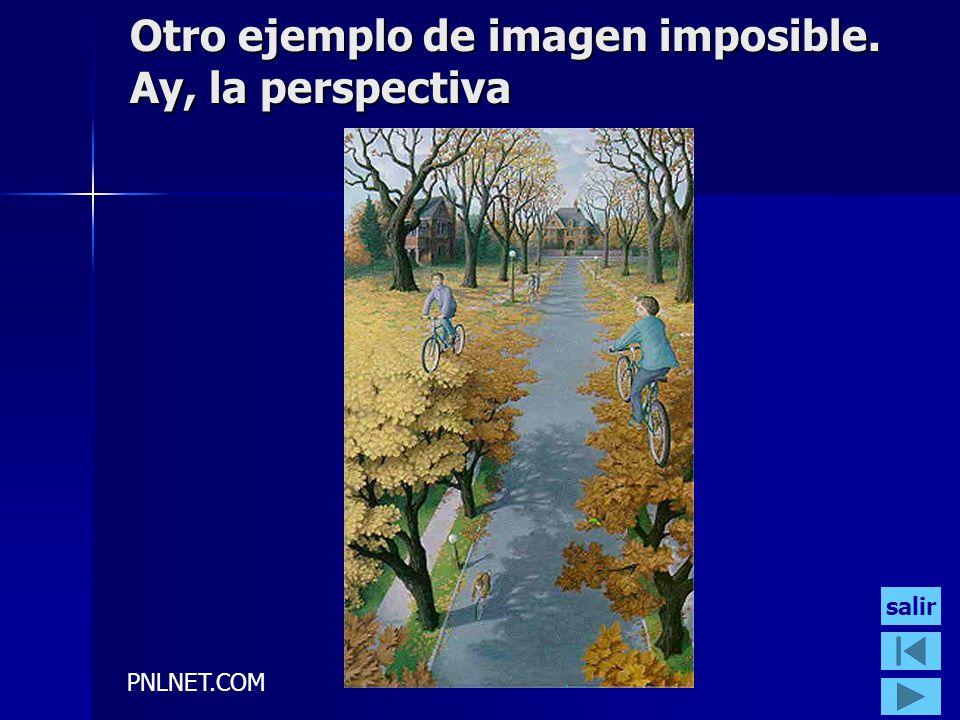 PNLNET.COM Otro ejemplo de imagen imposible. Ay, la perspectiva salir