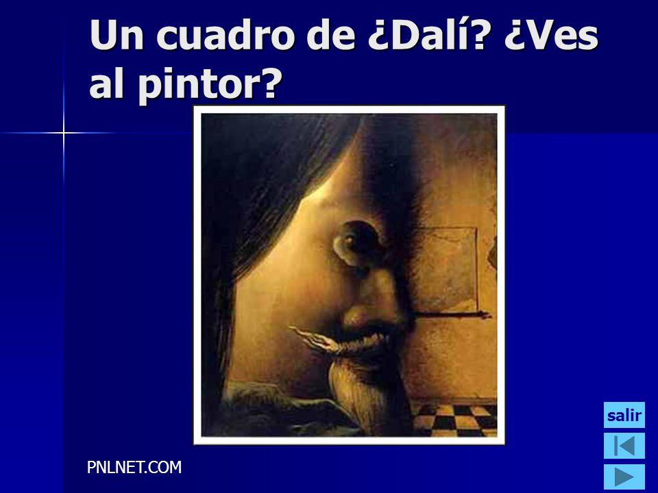 PNLNET.COM Un cuadro de ¿Dalí? ¿Ves al pintor? salir