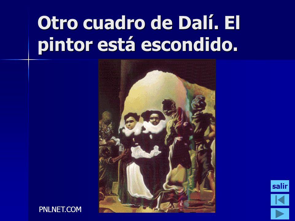 PNLNET.COM Otro cuadro de Dalí. El pintor está escondido. salir