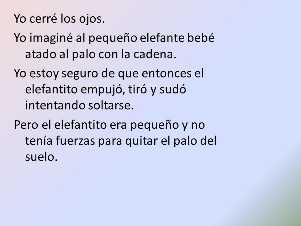"""La presentaci�n """"EL ELEFANTE Jorge Bucay El cuento est� adaptado ..."""