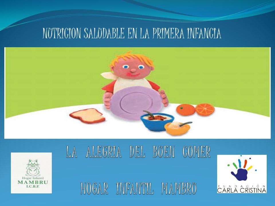 NUTRICION SALUDABLE EN LA PRIMERA INFANCIA