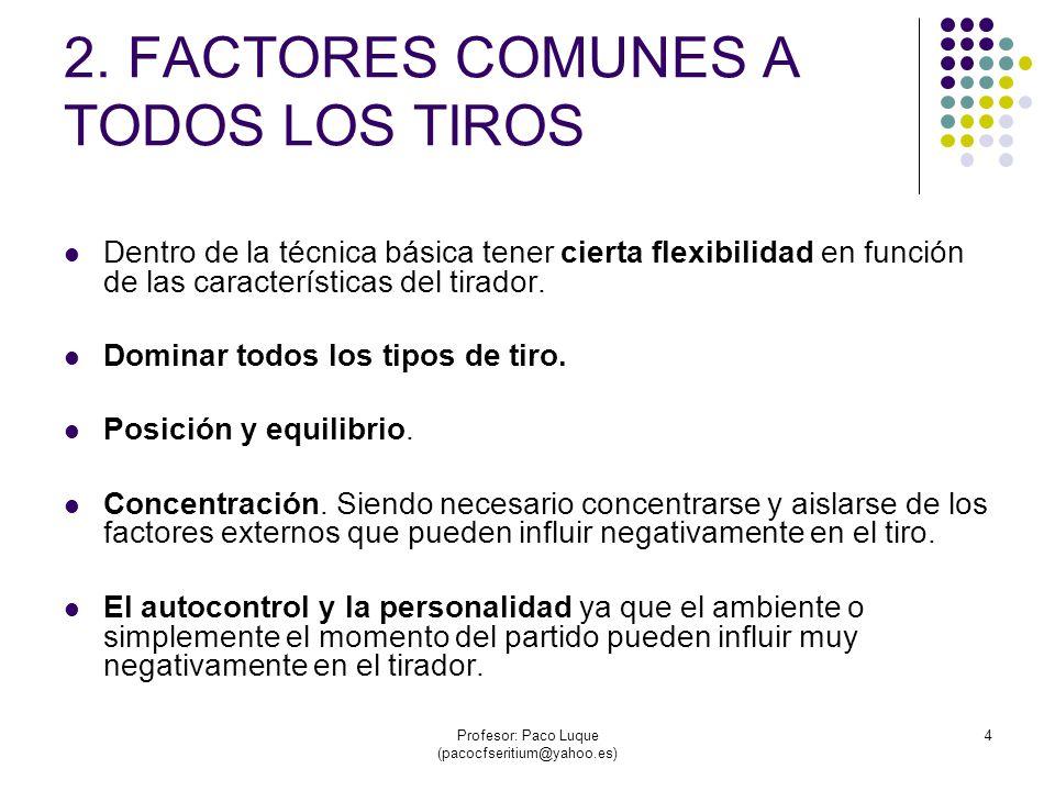 Profesor: Paco Luque (pacocfseritium@yahoo.es) 25 3.5 ENTRADAS A CANASTA.