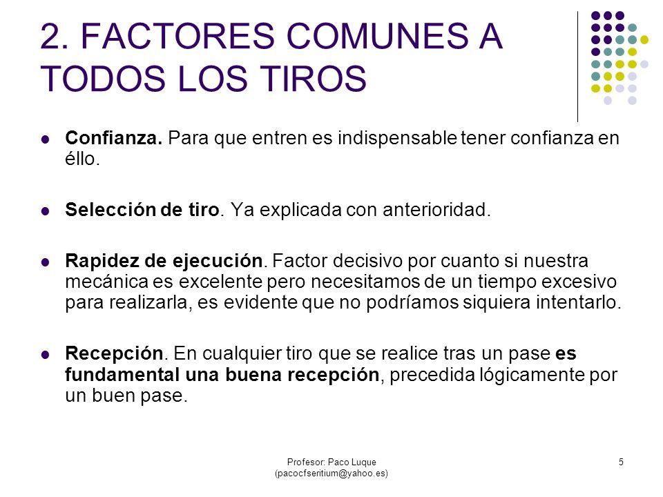 Profesor: Paco Luque (pacocfseritium@yahoo.es) 16 3.4 TIRO EN SUSPENSIÓN.