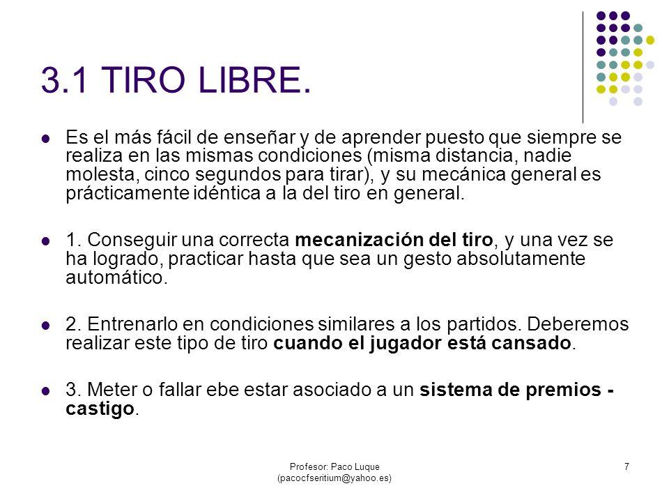 Profesor: Paco Luque (pacocfseritium@yahoo.es) 38 2.3 FINTA DE RECEPCIÓN CON REVERSO.