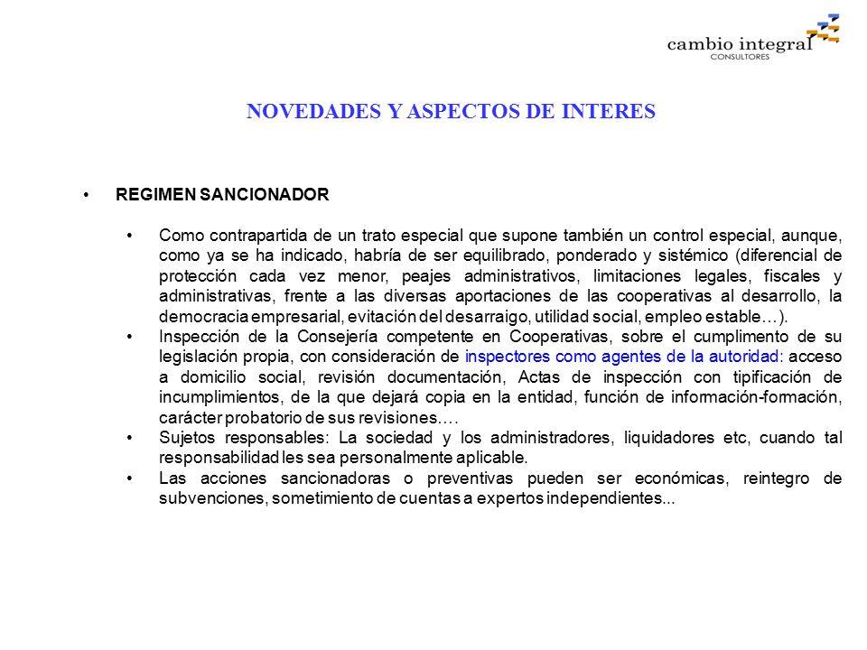 de la ley de cooperativas andaluzas:
