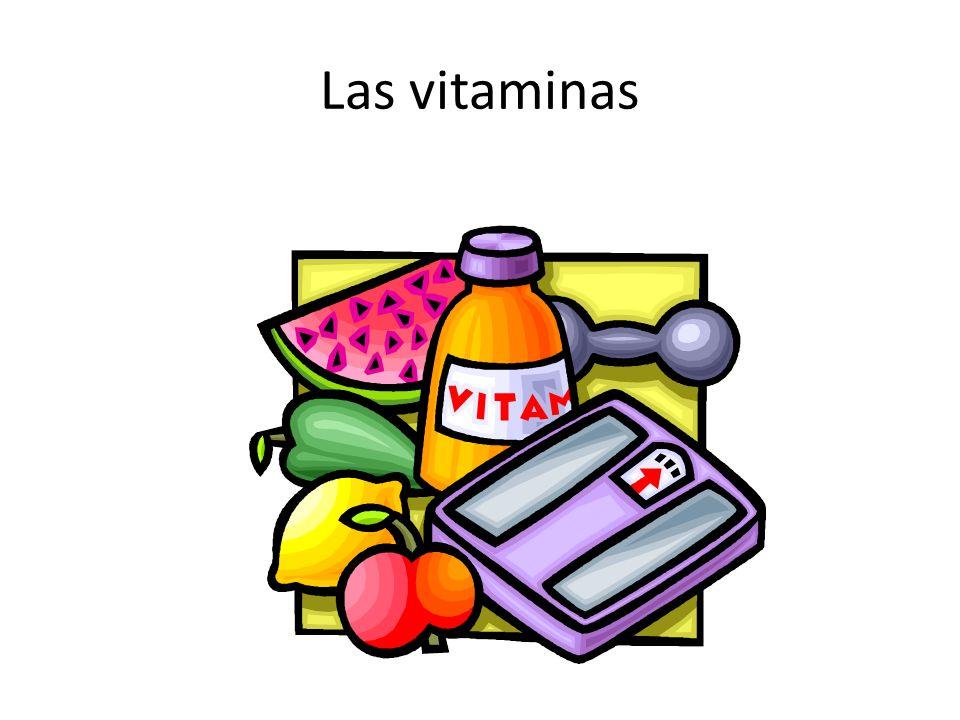 Las vitaminas