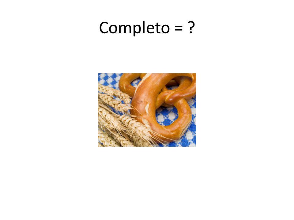 Completo = ?
