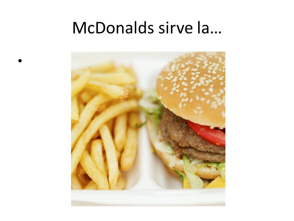 La comida rápida