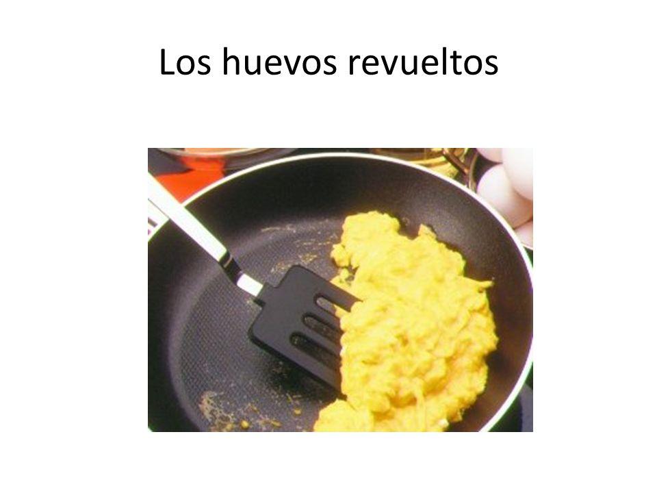 Los huevos revueltos