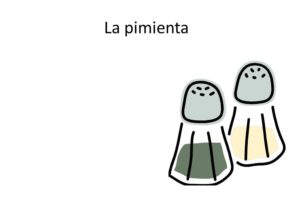 La pimienta