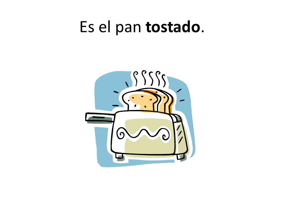 Es el pan tostado.