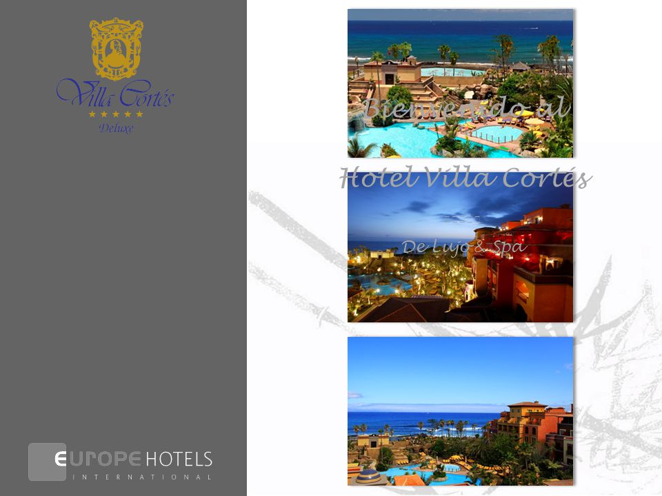 Bienvenido al Hotel Villa Cortés ★★★★★ De Lujo & Spa