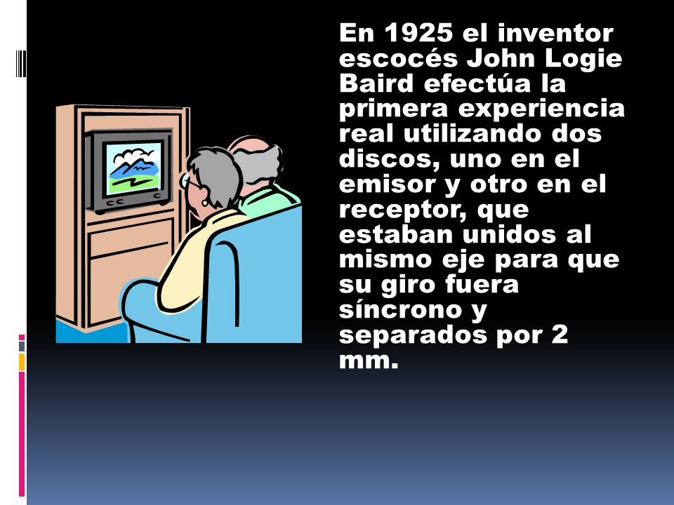 Resultado de imagen para television inventor y fecha
