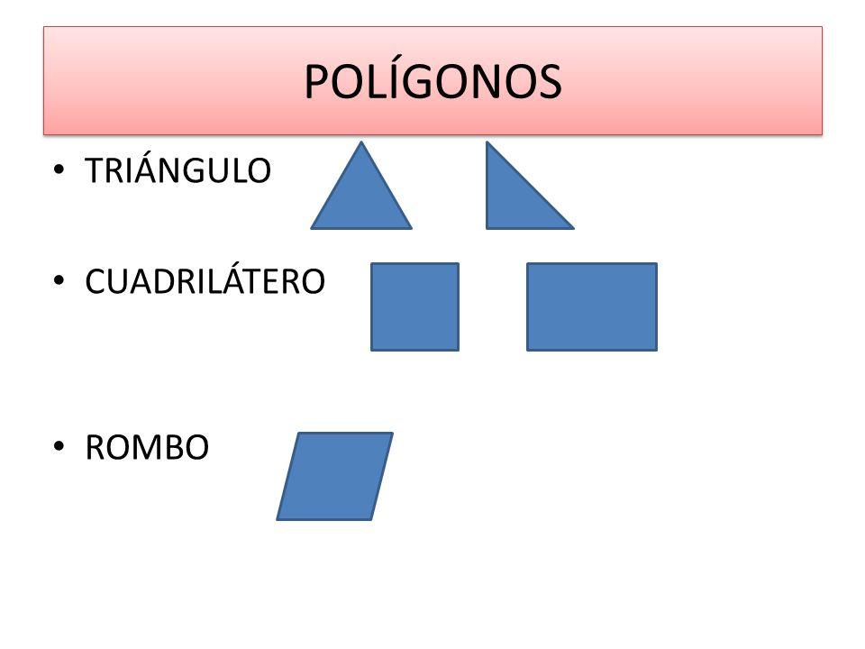 POLÍGONOS ROMBOIDE TRAPECIO