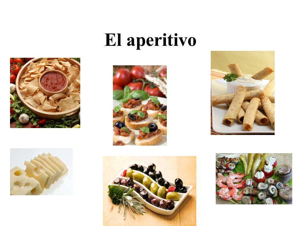 El aperitivo