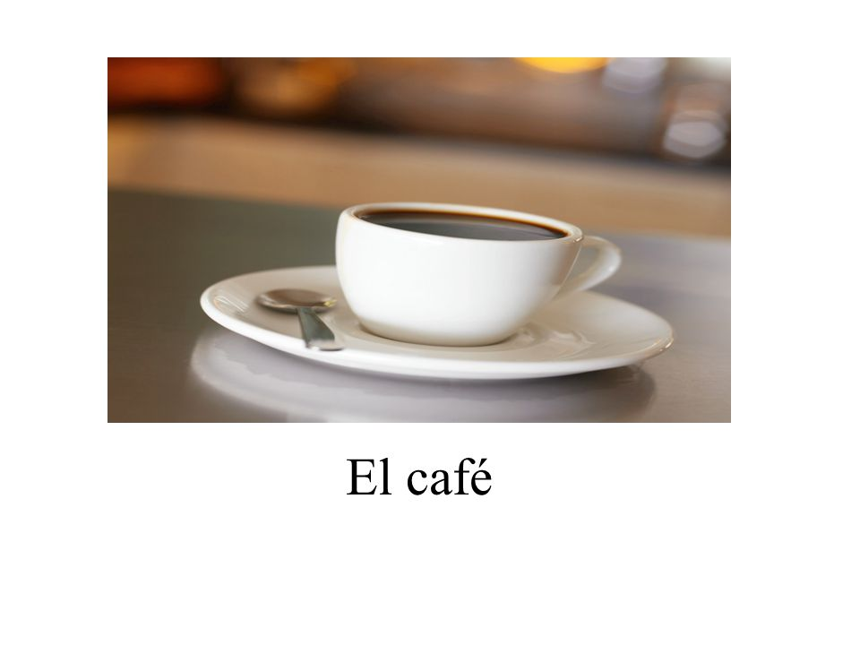 El café