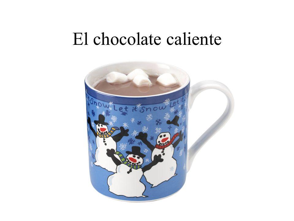El chocolate caliente