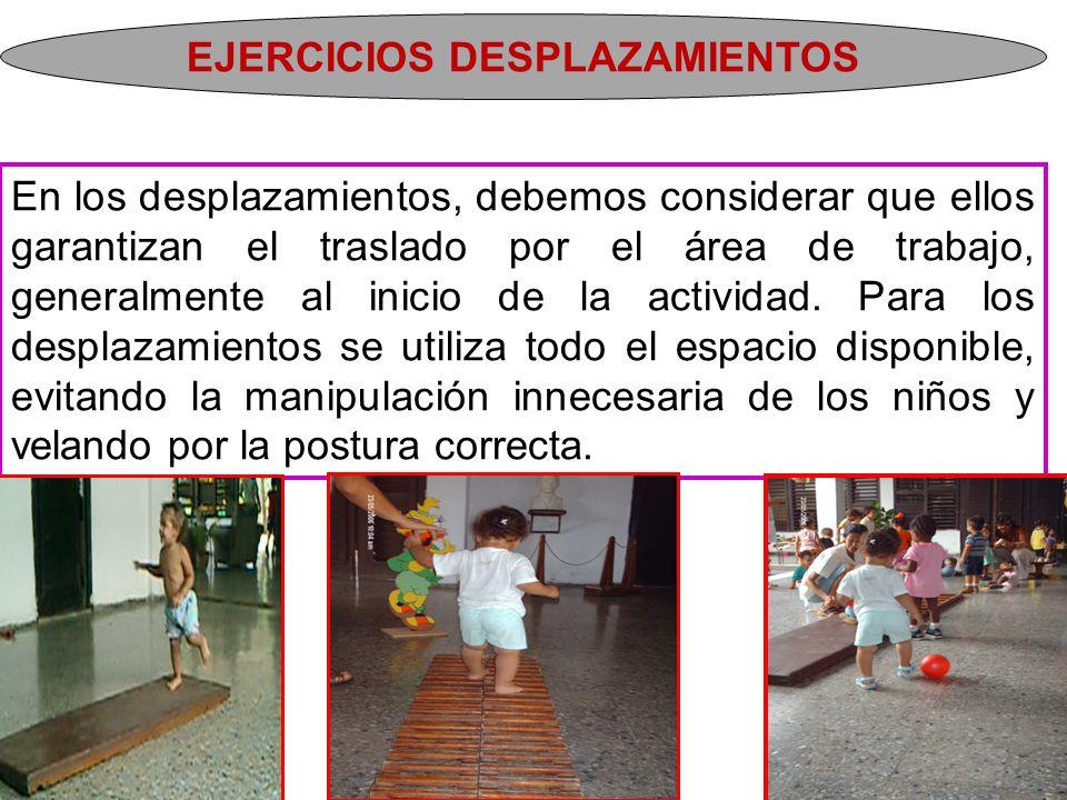 Continuación - Separación y elevación de las piernas: rozar con la yema de los dedos los muslos del niño para separar o elevar los pies.