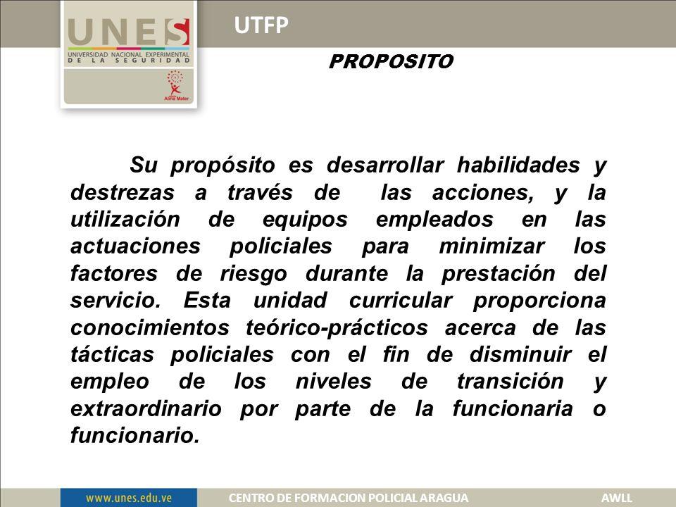 USO TACTICO DE LA FUERZA POLICIAL CENTRO DE FORMACION POLICIAL ARAGUA 2013