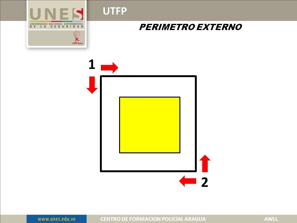 UTFP PERIMETRO EXTERNO 1 2 3 4 CENTRO DE FORMACION POLICIAL ARAGUA AWLL
