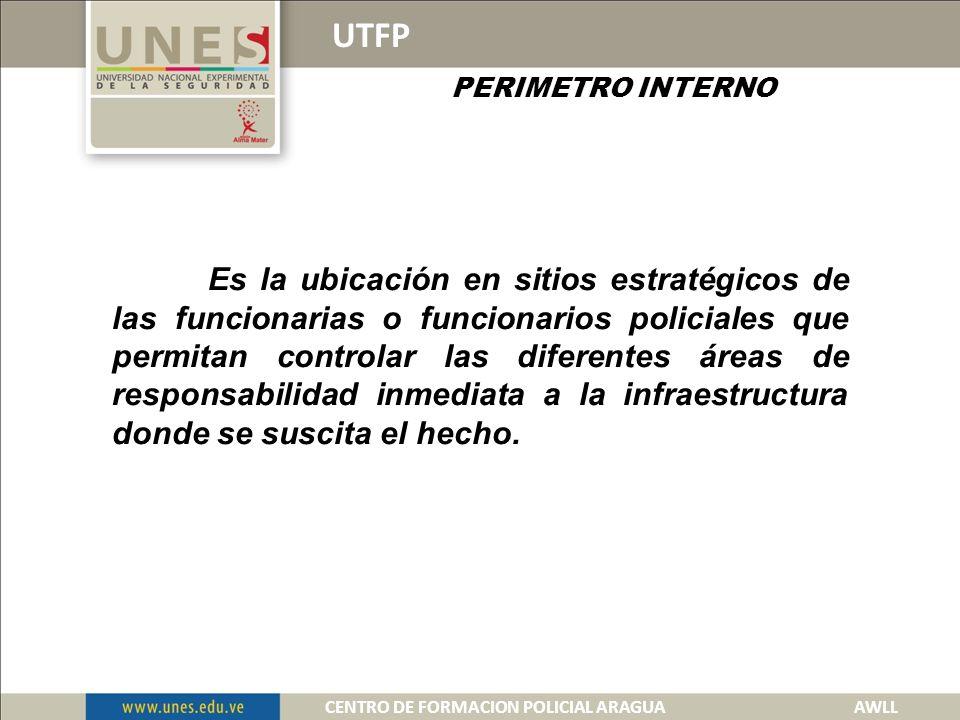 UTFP PERIMETRO EXTERNO 1 2 CENTRO DE FORMACION POLICIAL ARAGUA AWLL