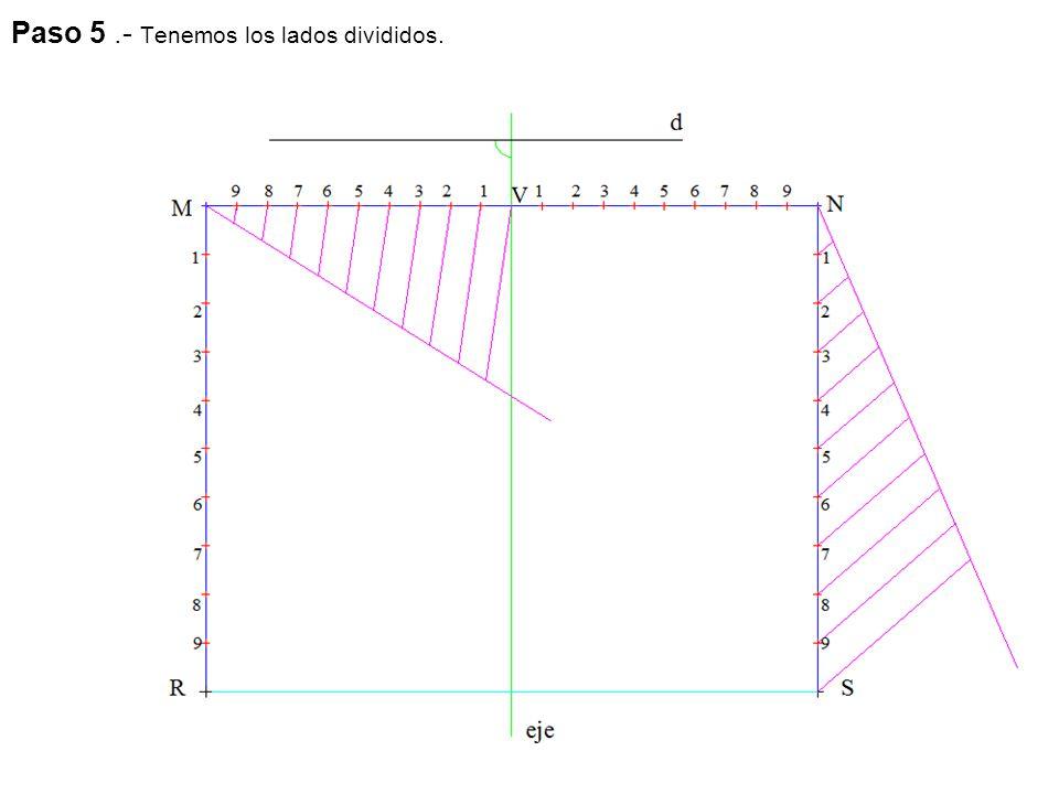 Paso 5: La intersección de la recta s'-s'' y la recta t'-t'' nos determina el punto I'-I'' que es también la intersección de la recta s'-s'' con el plano α 1- α 2.