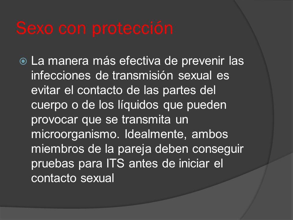 Los preservativos  Los preservativos o condones solamente proporcionan protección cuando se utilizan correctamente como barrera desde/hacia el área que cubren.