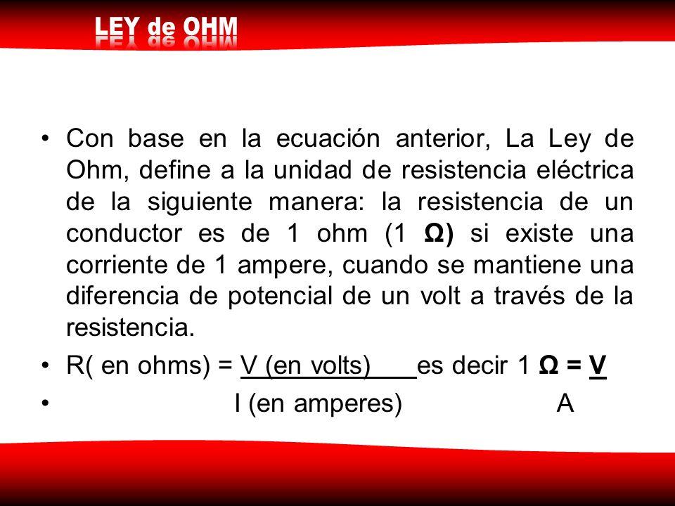 ley de ohm experimentos:
