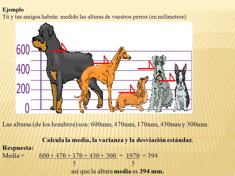VAMOS A DIBUJAR ESTO EN EL GRÁFICO: Ahora calculamos la diferencia de cada altura con la media: