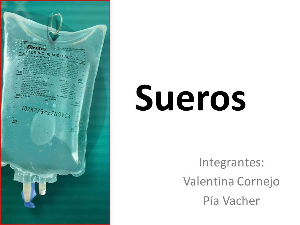 Sueros Integrantes: Valentina Cornejo Pía Vacher