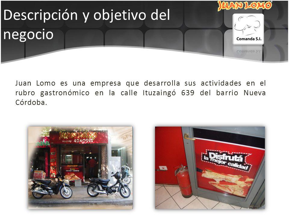 Juan Lomo es una empresa que desarrolla sus actividades en el rubro gastronómico en la calle Ituzaingó 639 del barrio Nueva Córdoba.