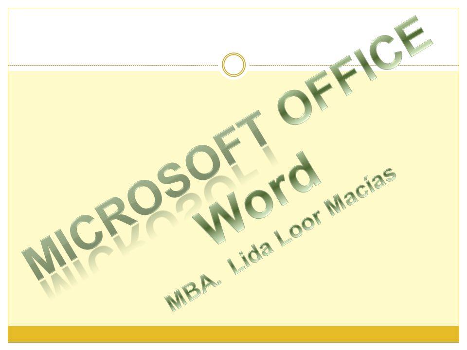 Crear Texto Artístico con WordArt WordArt se pueden crear títulos y rótulos dentro de nuestro texto.