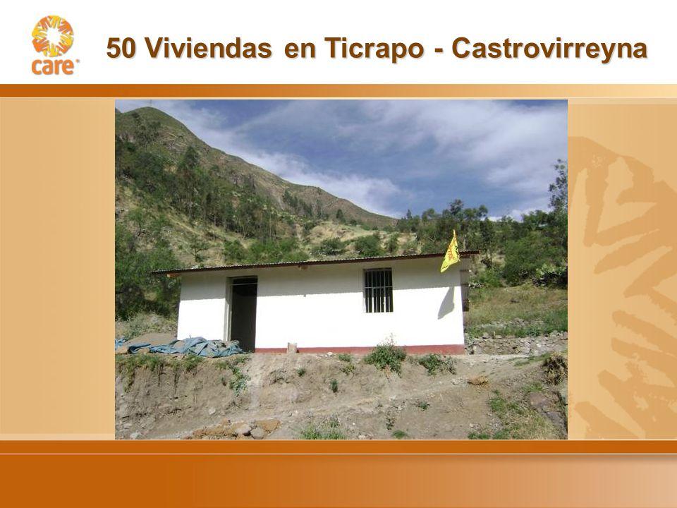 50 Viviendas en Ticrapo - Castrovirreyna