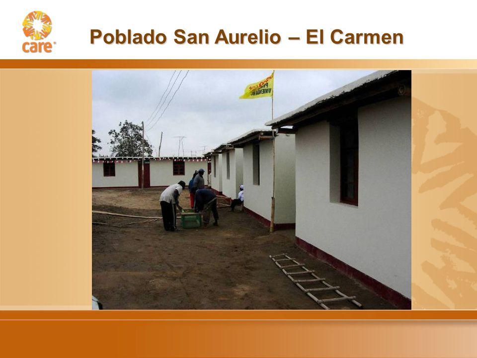 Poblado San Aurelio – El Carmen