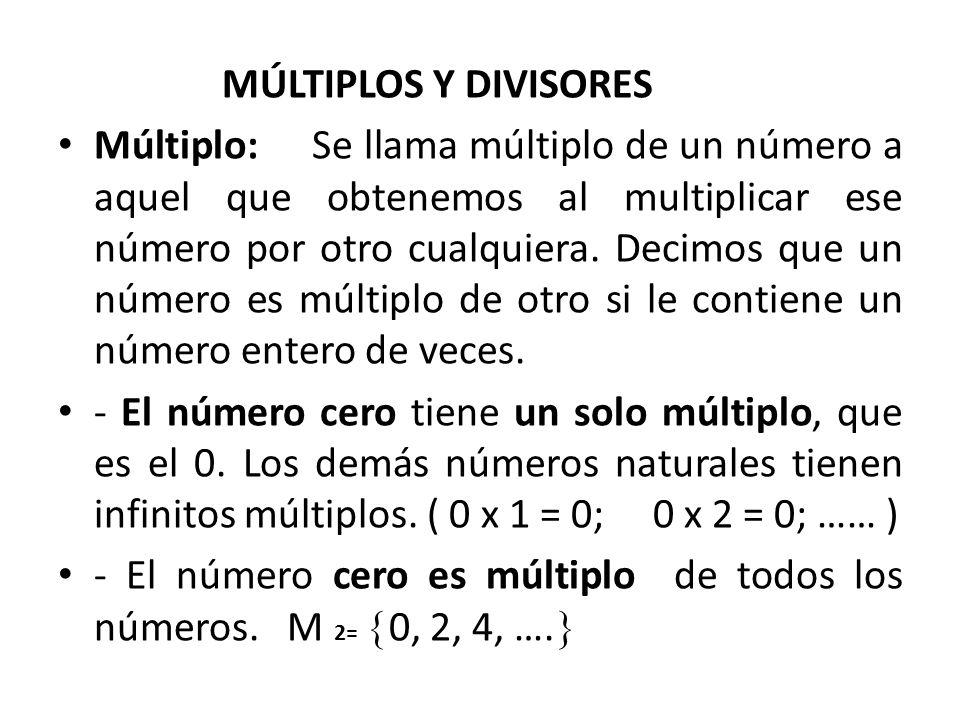 b) Factorización de cada número en factores primos: 6 = 2 x 3 8 = 2 x 4 12 = 2 x 6 2 x 2 x 2 2 x 2 x 3 2 x 3 2 3 2 2 x 3 De cada base igual se considera la que tiene mayor exponente: 2 3 x 3 = 2 x 2 x 2 x 3 = 24 m.c.m.