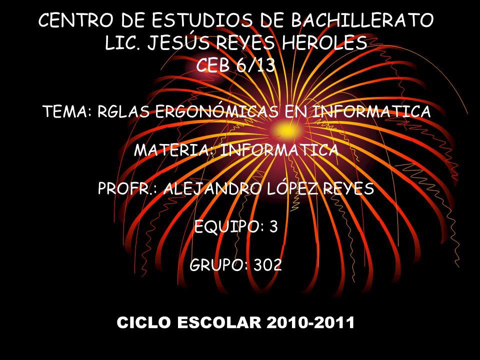 CENTRO DE ESTUDIOS DE BACHILLERATO LIC.