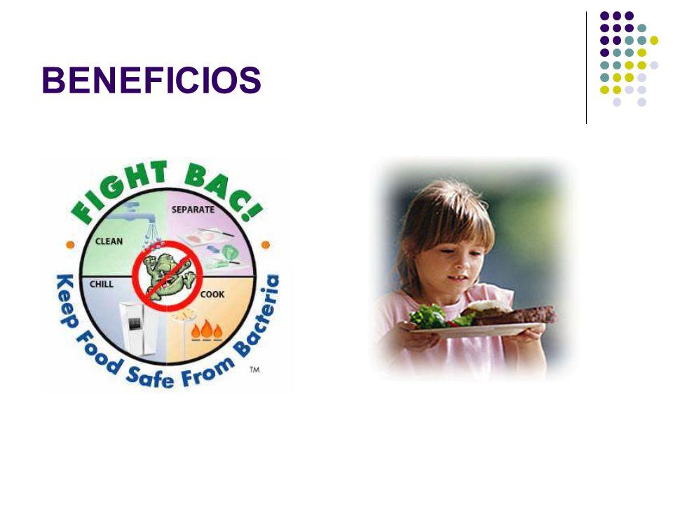 Verificación Uso de información suplementaria para comprobar si el sistema HACCP está funcionando bien Higiene y desinfección de equipos Producto terminado Microorganismos indicadores Microorganismos patógenos