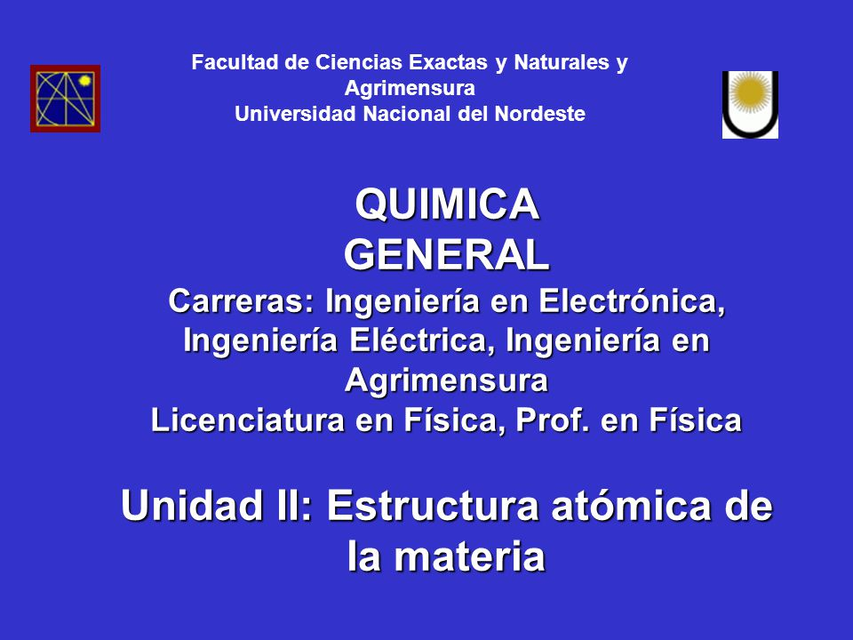 facultad de ciencias exactas fisica y naturales: