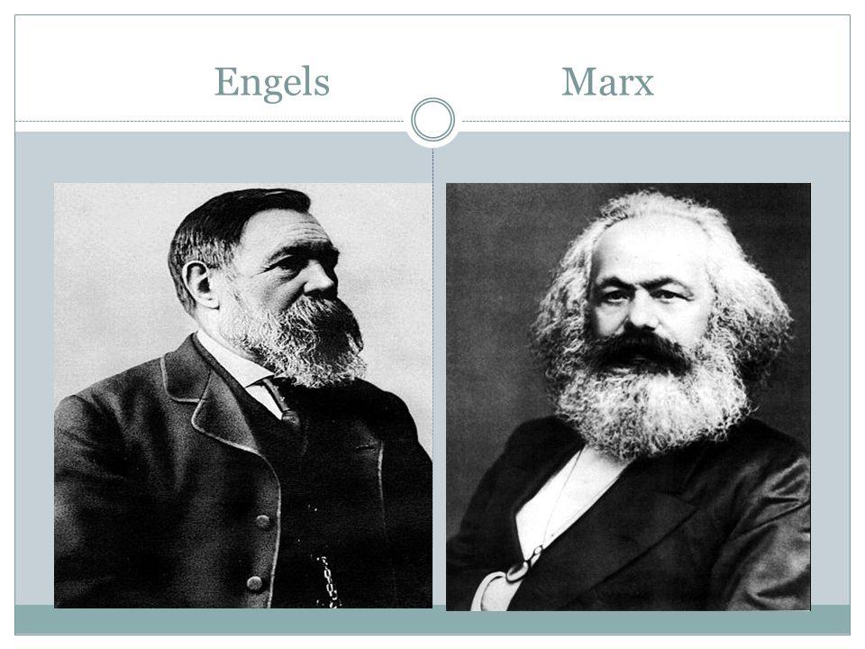 Engels Marx