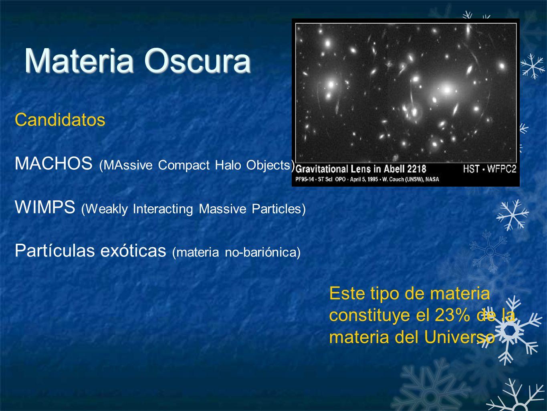 Resultado de imagen de De qué está compuesta la materia oscura