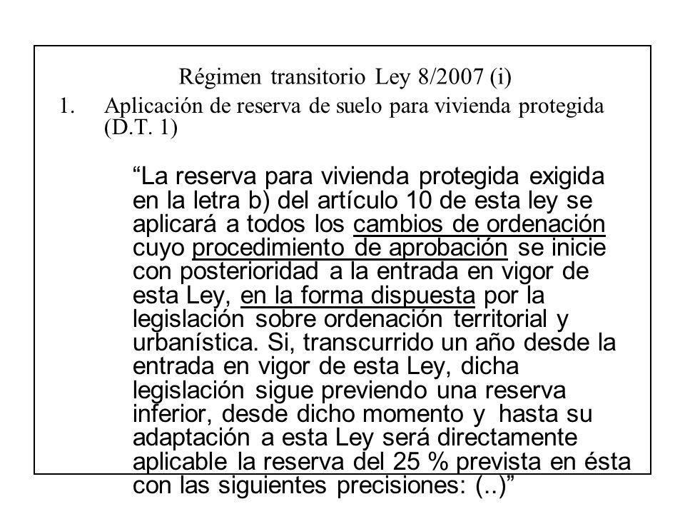 ley suelo 2007: