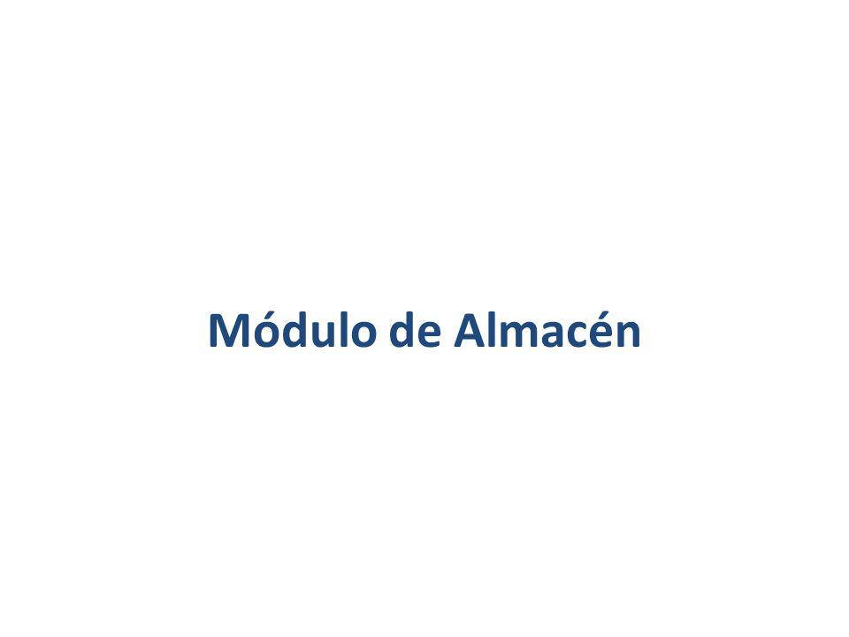 Módulo de Almacén