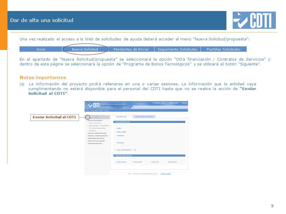 Guía para la presentación de solicitudes para el programas de ...