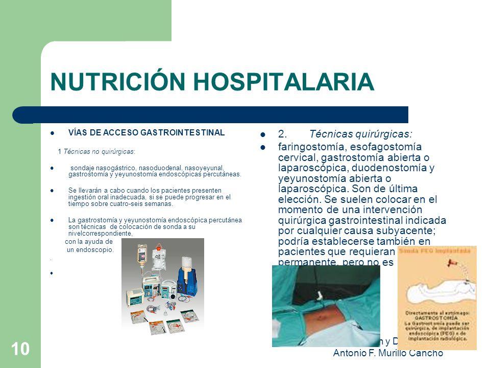 Nutrición y Dietética Antonio F.