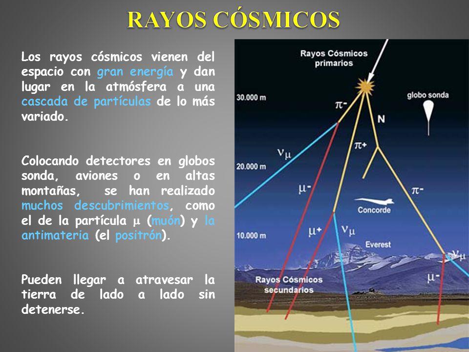 Resultado de imagen de trazas de luz y fotones en los rayos cósmicos